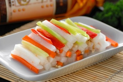 兰溪小萝卜VS四川泡菜和余姚榨菜