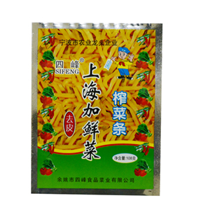 beplay安卓下载上海加鲜菜 108克